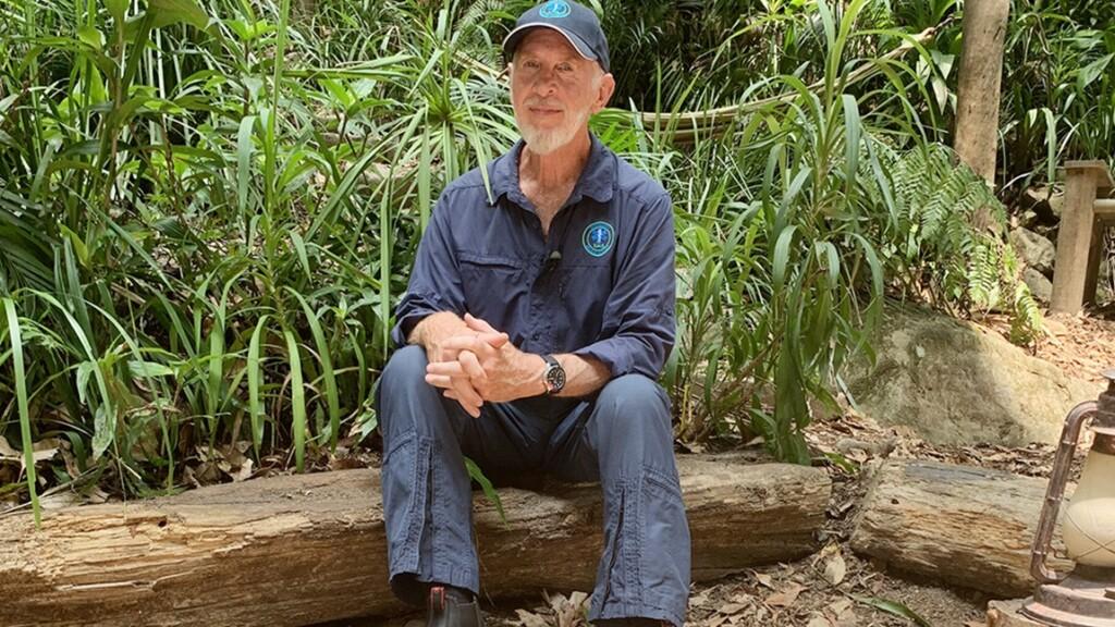 Dr. Bob im australischen Dschungel.
