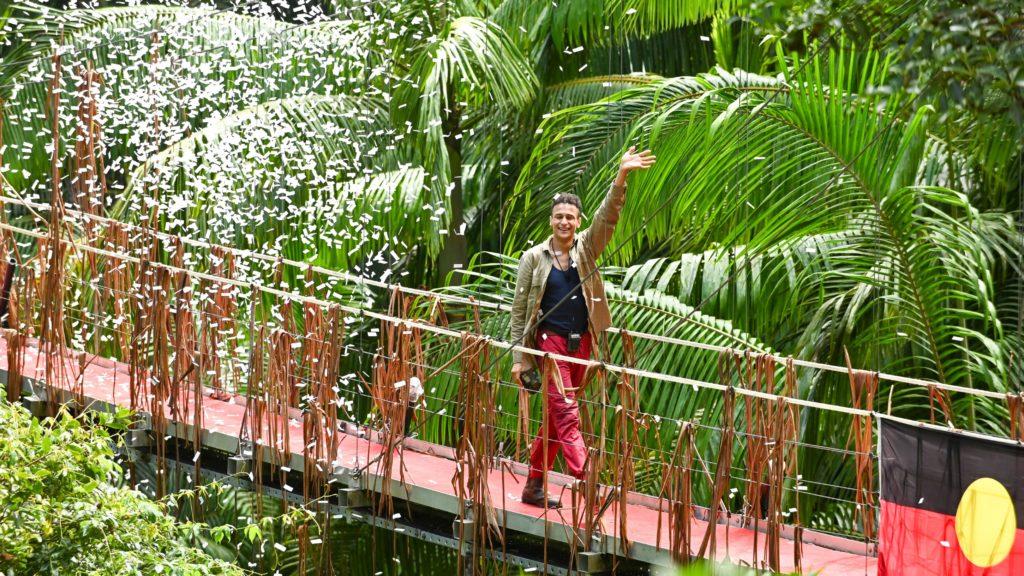 Tag 16. Prince Damien ist Dschungelkönig 2020.