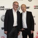 Die 1LIVE Krone 2013 - Tom Buhrow und Jochen Rausch