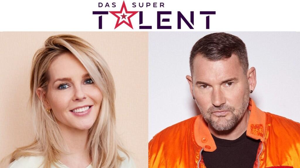 """Chantal Janzen und Michael Michalsky sitzen in der neuen Jury von """" Das Supertalent""""."""