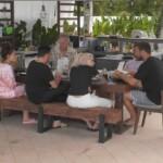 Promis unter Palmen 2020 Folge 4 - Die Promis beim gemeinsamen Essen