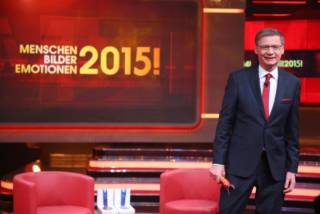 Moderator Günther Jauch führt durch die Sendung.