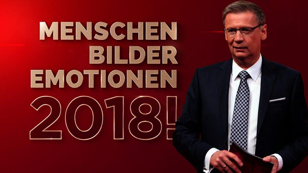 """Beim großen RTL-Jahresrückblick """"2018! Menschen, Bilder, Emotionen"""" lädt Günther Jauch seine Gäste wieder ein, von ihren ganz persönlichen Momenten des Jahres zu berichten."""