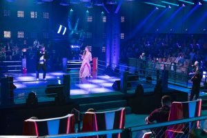 The Voice of Germany 2020 - On Air und Kim Unger