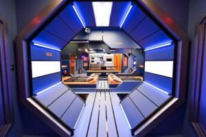 Promi Big Brother 2021 - Blick in die Raumstation