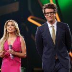 Let's Dance 2017 Show 9 - Die Moderatoren Sylvie Meis und Daniel Hartwich