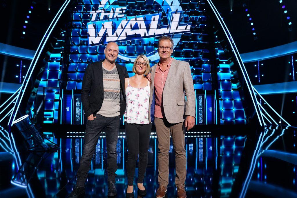 The Wall - Denise und Martin aus Hamm mit FRank Buschmann