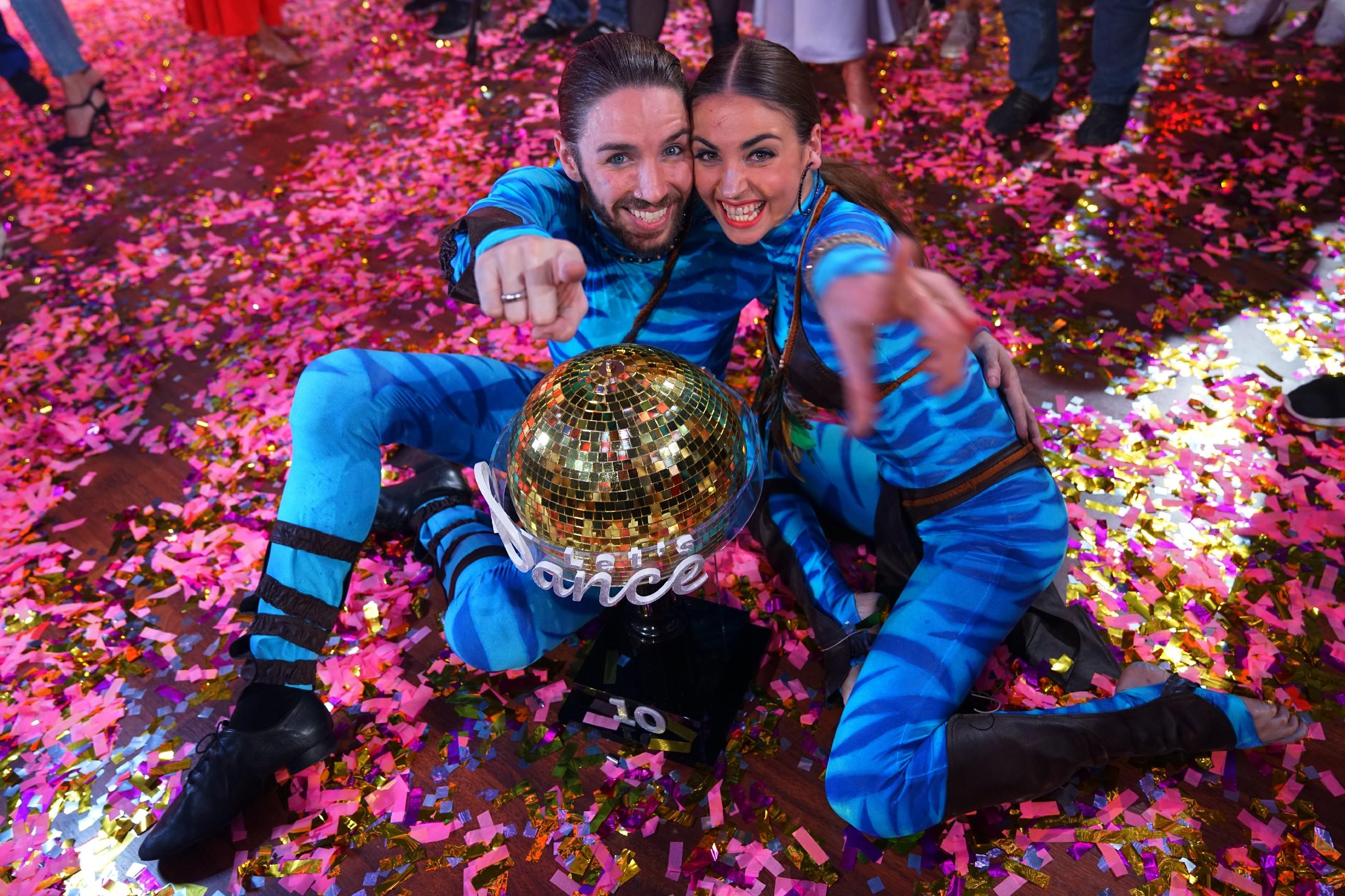 "Gil Ofarim mit seiner Tanzpartnerin Ekaterina Leonova ist ""Dancing Star 2017"""