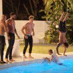 Die Bachelorette 2017 Folge 4 - Die Jungs bei der Pool-Party