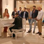 Die Bachelorette 2017 Folge 4 - David spielt Klavier