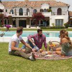Die Bachelorette 2017 Folge 5 - Jessica mit David und Sebastian beim Picknick
