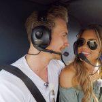 Die Bachelorette 2017 Folge 5 - David und Jessica beim Helikopter-Flug
