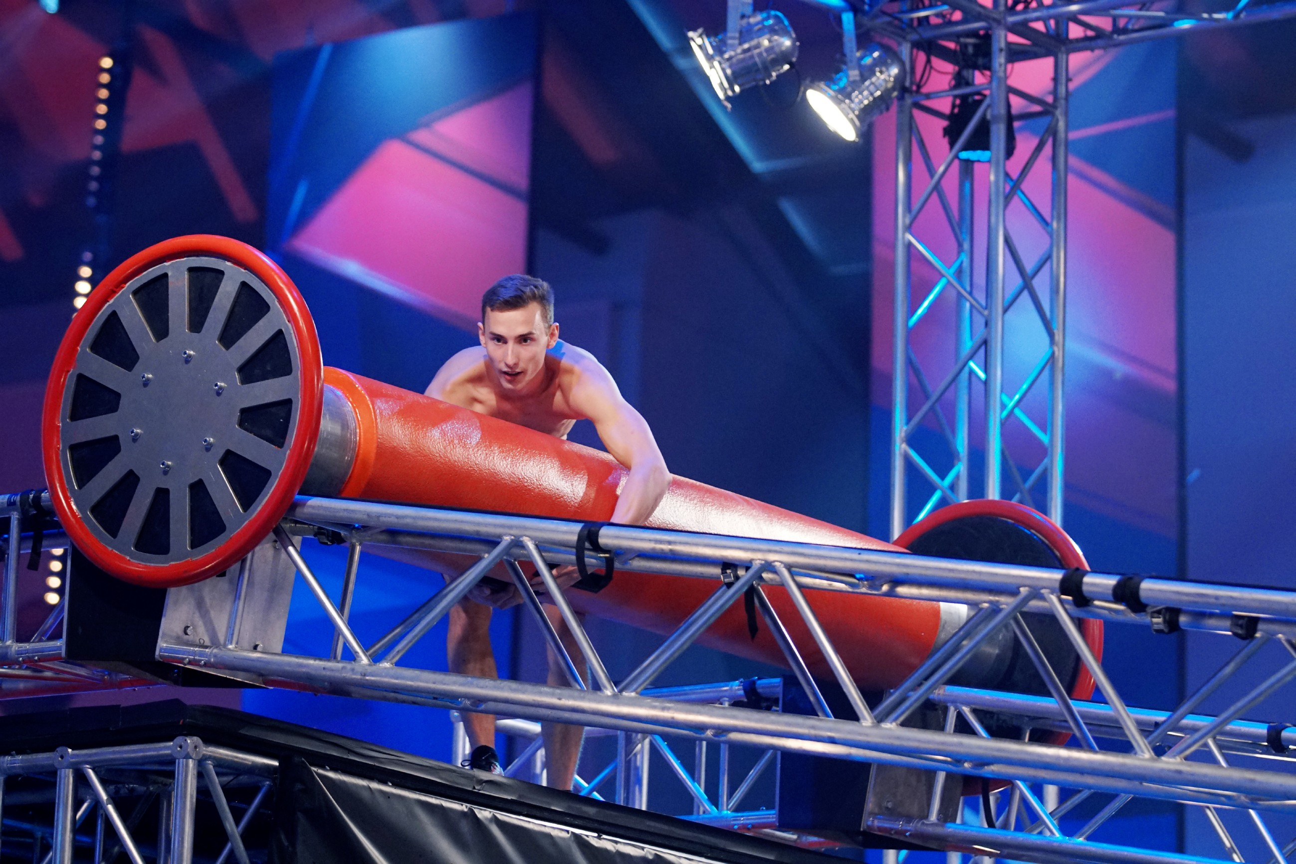 Ninja Warrior Germany 2017 - Niklas Wiesenzarter