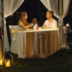 Die Bachelorette Finale 2017 - Johannes und Jessica beim Dinner