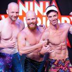 Ninja Warrior Germany 2017 -Rainer Höpfler, Tobias Hofmann und Florian Nestmann