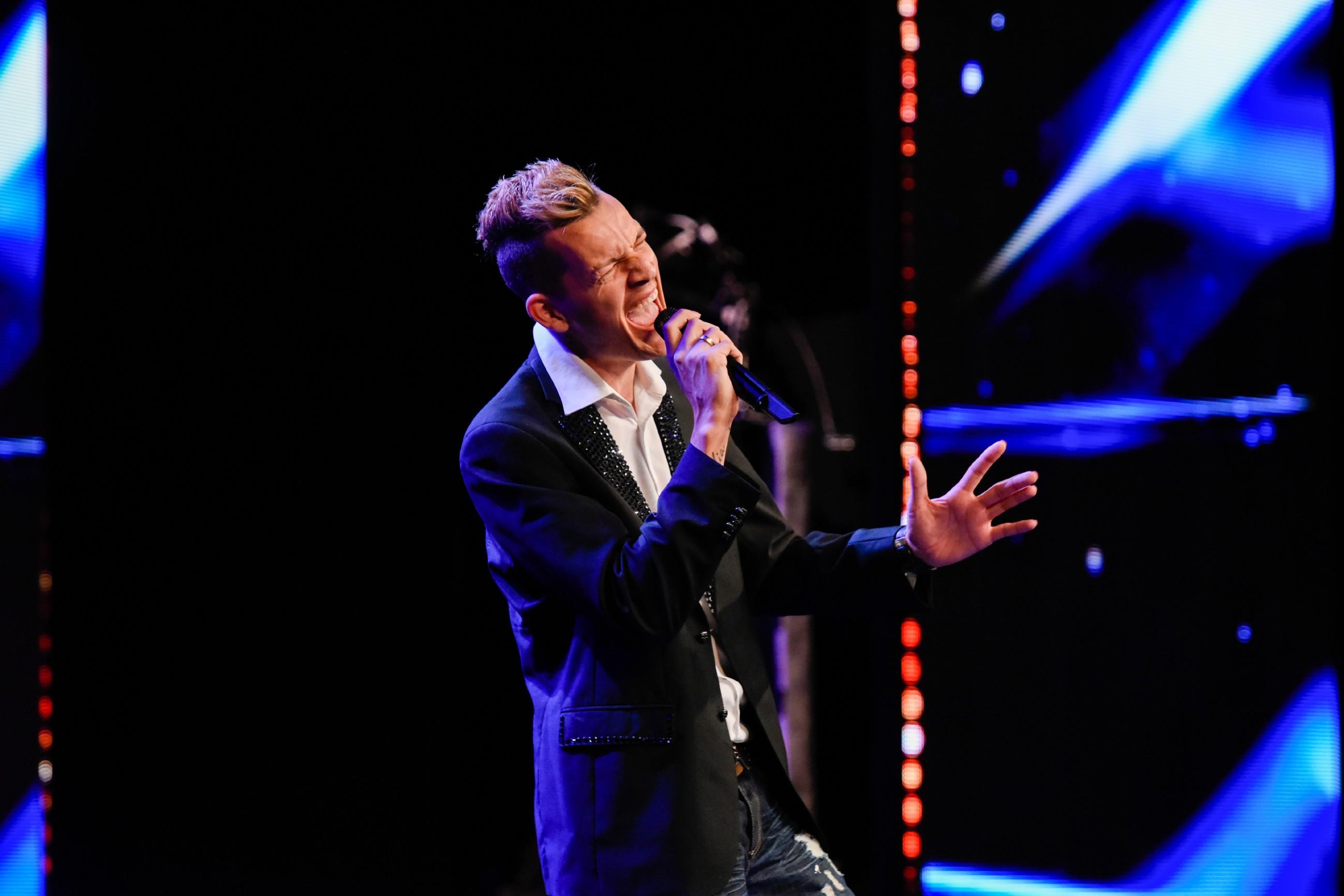 Das Supertalent 2017 Show 8 - Mike Häberle