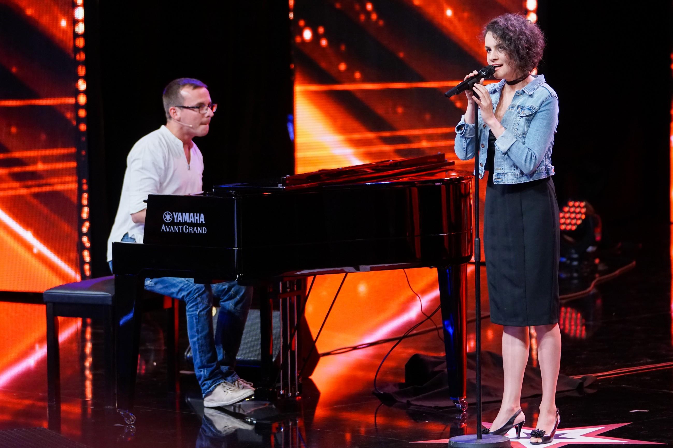 Das Supertalent 2017 Show 8 - Daniel Spiner und Andrea Buckova