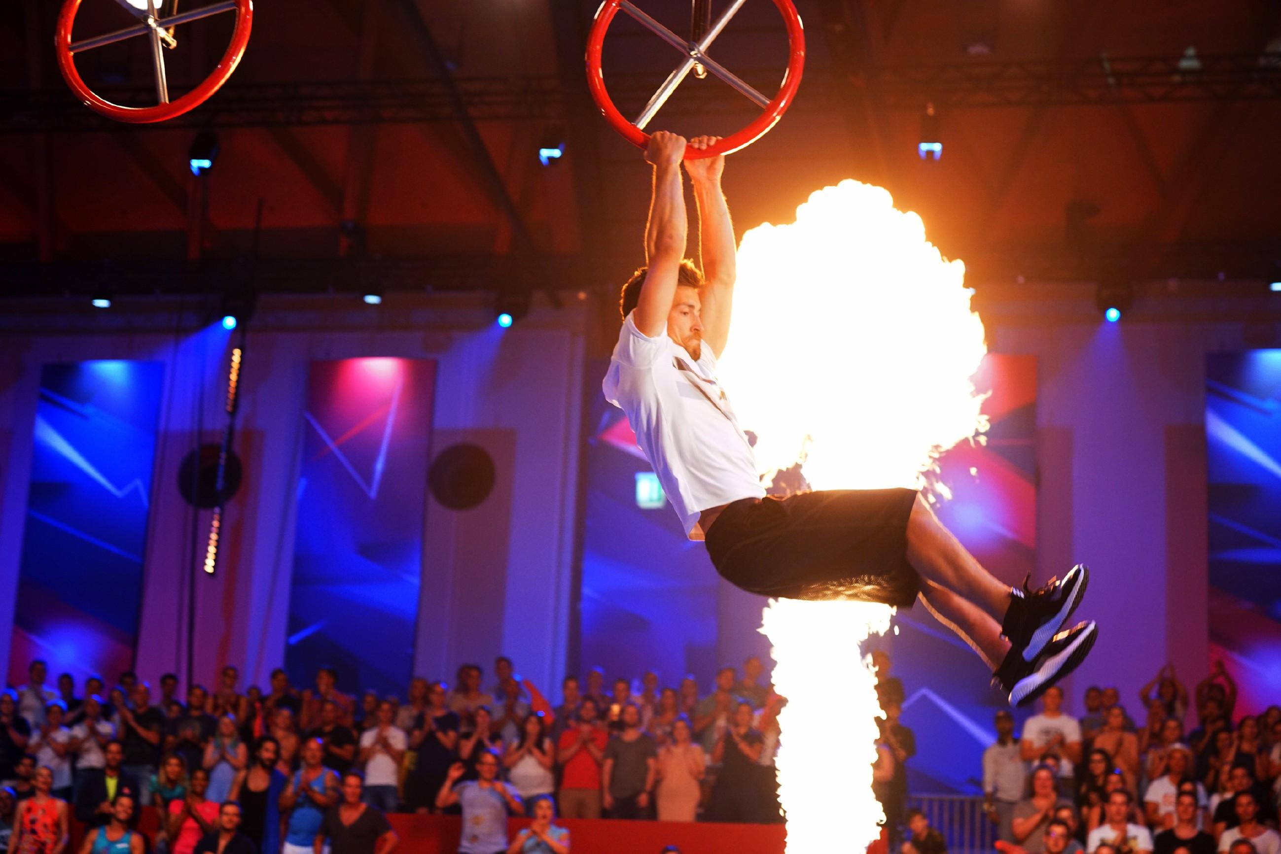 Ninja Warrior Germany  Promi Special - Massimo Sinato