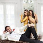 Der Bachelor 2018 Folge 2 - Daniel, Nadine und Yeliz beim Fotoshooting