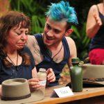 Dschungelcamp 2018 Dschungelschule - Tina York und Daniele Negroni