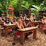 Dschungelcamp 2018 Dschungelschule - Die Camper in der Schule