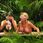 Dschungelcamp 2018 Dschungelschule – Kattia Vides und Giuliana Farfalla