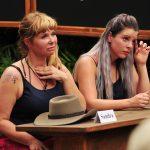 Dschungelcamp 2018 Dschungelschule – Sandra Steffl und Jenny Frankhauser