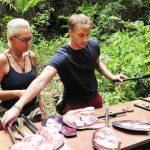 Dschungelcamp 2018 Tag 4 - David und Natascha bei der Schatzsuche
