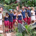 Dschungelcamp 2018 Tag 4 - Die Camper beim Erstellen des Rankings