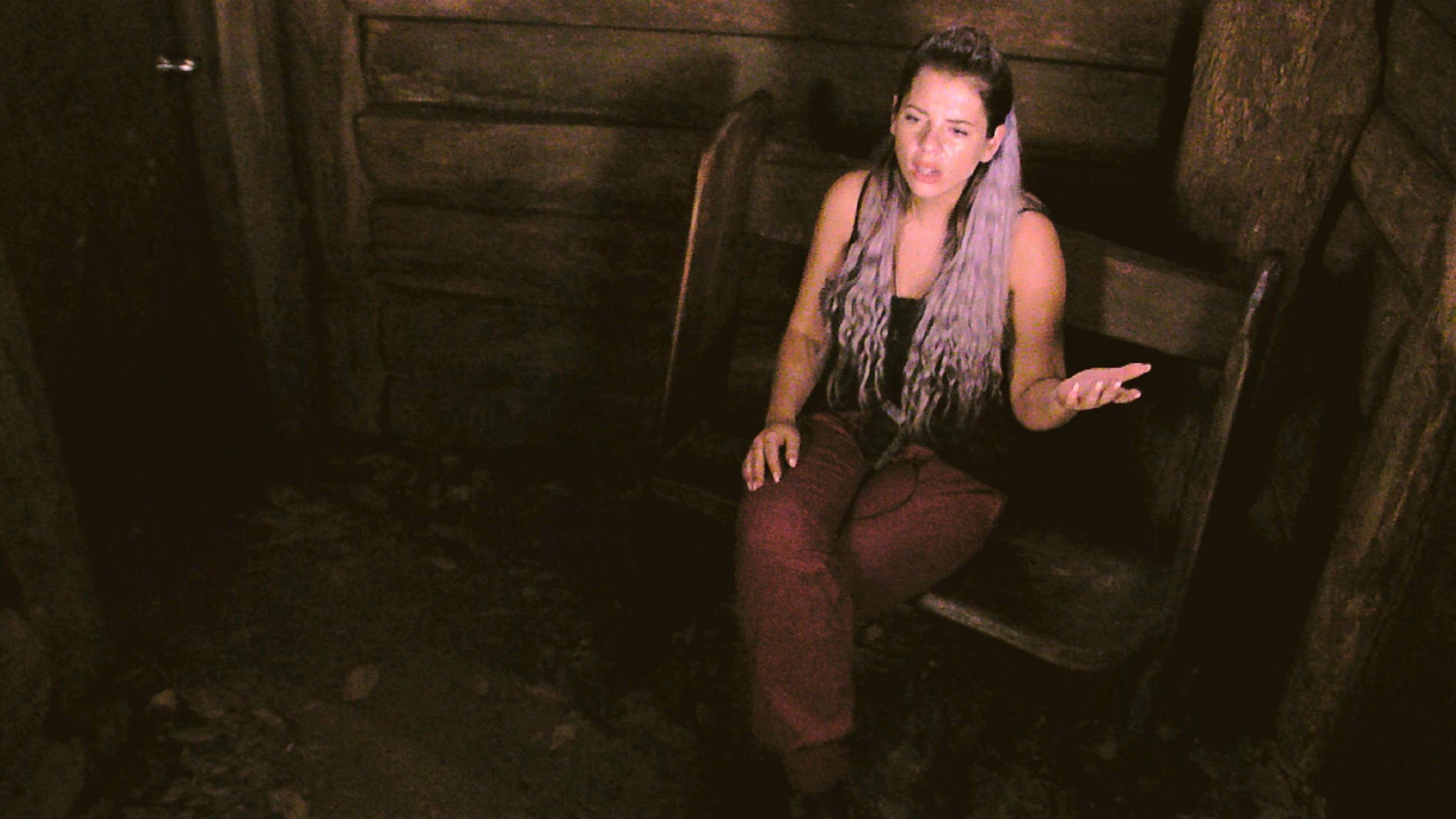 Dschungelcamp 2018 Tag 8 - Jenny Frankhauser