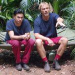 Dschungelcamp 2018 Tag 8 - Matthias und Ansgar