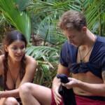Dschungelcamp 2018 Tag 9 - Kattia und David
