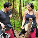 Dschungelcamp 2018 Tag 12 - Matthias und Jenny bei der Schatzsuche