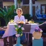 Der Bachelor 2018 Finale - Daniel mit Mutter Rebecca und Kristina