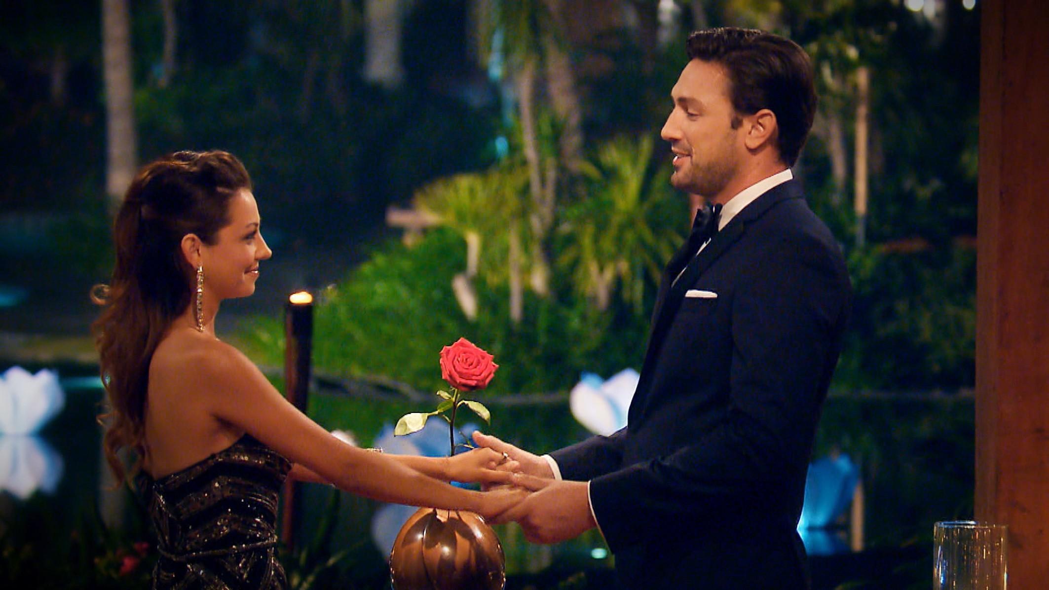 Der Bachelor 2018 Finale - Daniel und Kristina bei der letzten Nacht der Rosen