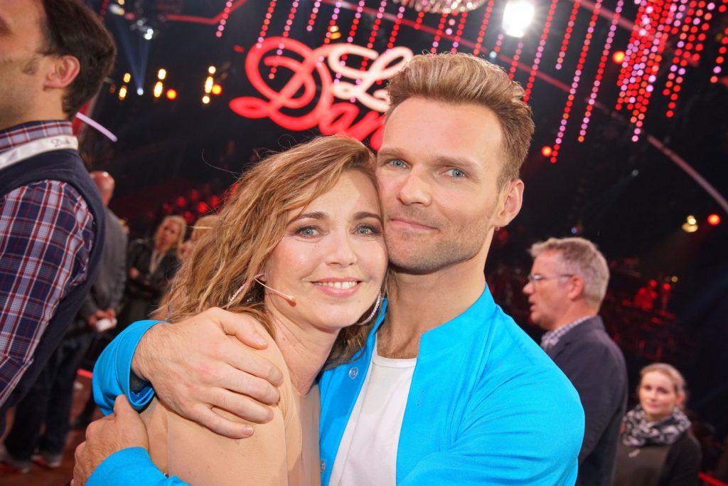 Tina Ruland und Vadim Garbuzov scheiden aus.