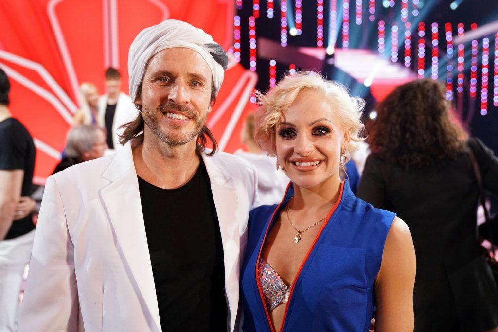 Chakall und Marta Arndt scheiden aus.