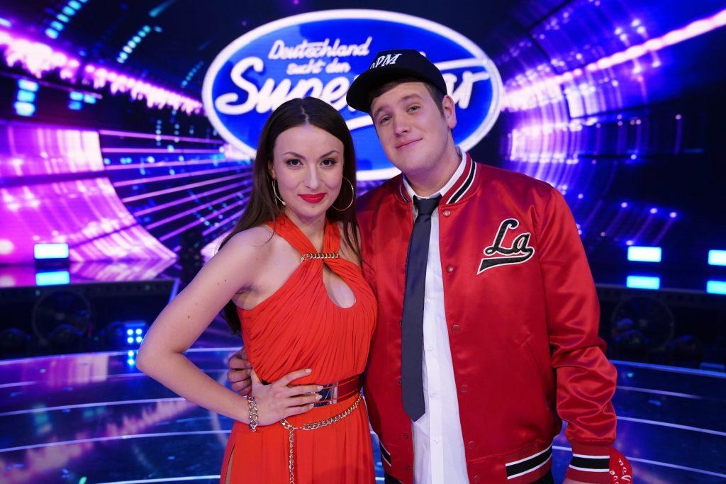 Mia Gucek und Lukas Otte haben die wenigsten Zuschauerstimmen erhalten und scheiden aus.