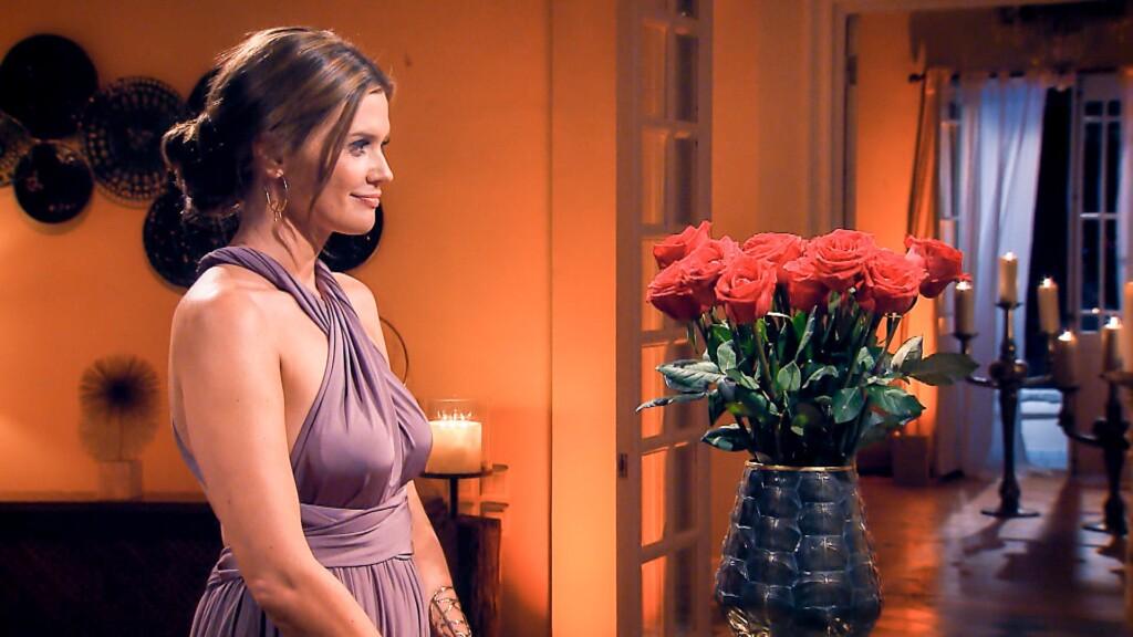 Wer wird von Nadine in der zweiten Nacht der Rosen eine Rose erhalten?