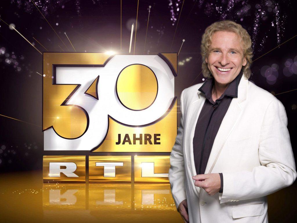 """Thomas Gottschalk moderiert die große Jubiläumsshow zu """"30 Jahre RTL"""""""