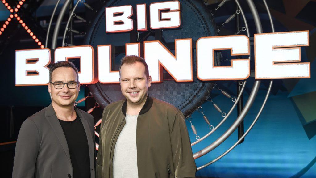 """Die Moderatoren von """"Big Bounce"""" sind Matthias Opdenhövel (l.) und Wolff-Christoph Fuss."""