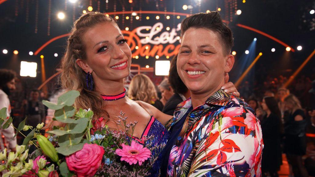 Kerstin Ott (l.) und Regina Luca scheiden aus.