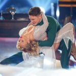 Evelyn Burdecki und Evgeny Vinokurov tanzen Rumba