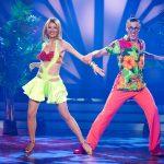 Ella Endlich und Valentin Lusin tanzen Jive