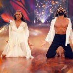 Barbara Becker und Massimo Sinató tanzen Contemporary