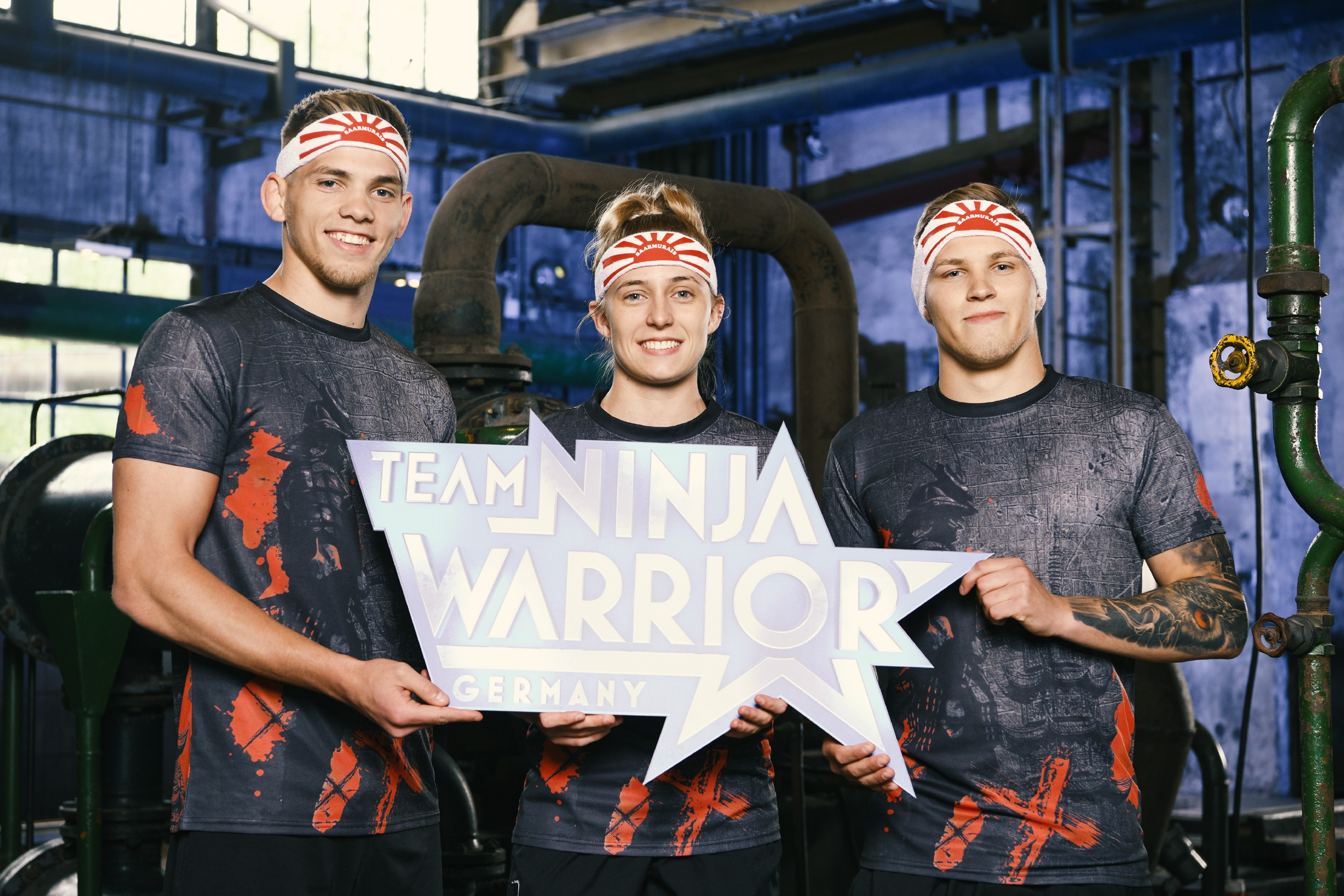 Team Ninja Warrior Germany 2019 - Team