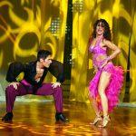 Nazan Eckes und Christian Polanc tanzen Samba