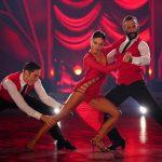 Nazan Eckes und Christian Polanc bei ihrem Trio Dance mit Massimo Sinató