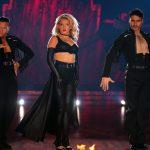 Evelyn Burdecki und Evgeny Vinokurov bei ihrem Trio Dance mit Robert Beitsch