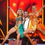 Benjamin Piwko und Isabel Edvardsson bei ihrem Trio Dance mit Regina Luca